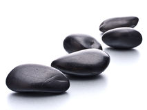 Zen pebbles Stock Photo