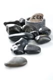 Zen pebbles Royalty Free Stock Photo