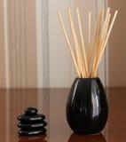 Zen pebbles balance Stock Photo