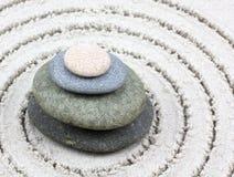 Zen pebbles balance! Royalty Free Stock Photo