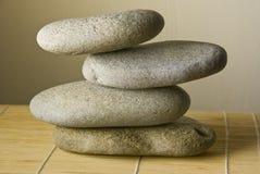 Zen pebbles Stock Photo