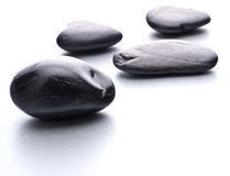 Zen pebbles. Stone spa and healthcare concept. Stock Photos