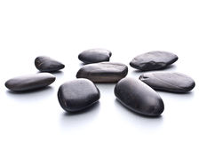 Zen pebbles. Stone spa and healthcare concept.  Royalty Free Stock Image