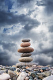 Zen Pebbles Sustainable Growth Stock Image