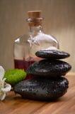Zen, pierres d'équilibre Images stock