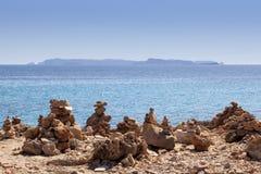 Zen plaża Zdjęcie Stock
