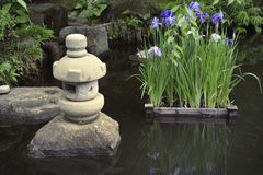 Zen pond Royalty Free Stock Photography