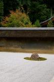 Zen Rock Garden Stockfotografie