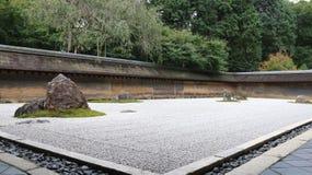 Zen Rock Garden Fotografering för Bildbyråer