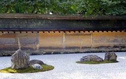 Zen Rock Garden royaltyfri fotografi