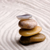 Zen Rock Garden Royalty Free Stock Photo