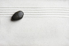 Zen Rock Garden Background Royalty Free Stock Photo