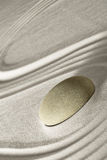 Zen rock garden Royalty Free Stock Images