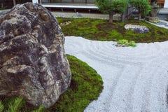 The zen  rock garden Japanese  style kamakura japan. Zen  rock garden Japanese  style kamakura japan Stock Photo