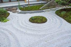 The zen  rock garden Japanese  style kamakura japan. Zen  rock garden Japanese  style kamakura japan Stock Image