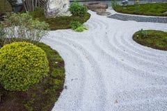 The zen  rock garden Japanese  style kamakura japan. Zen  rock garden Japanese  style kamakura japan Stock Images