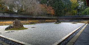 Zen rock garden Royalty Free Stock Photos