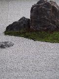 Zen Rock Garden in Kyoto Japan stock foto