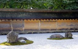 Zen Rock Garden Royalty Free Stock Photography