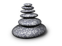 Zen rocks Royalty Free Stock Photos