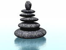 Zen Rocks Royalty Free Stock Photography