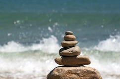 Zen Rocks royalty-vrije stock foto's
