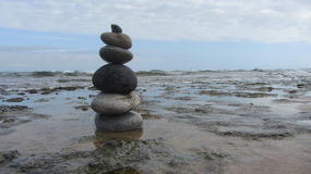 The Zen Rocks Stock Images