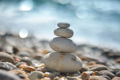Free Zen Rocks On The Beach Stock Photo - 19520190