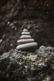 Zen Rocks royalty free stock image