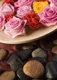 Zen roses Stock Photos