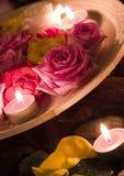 Zen roses Stock Images