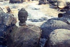 Zen rzeka obraz stock