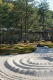 Zen garden at Kodaiji, Kyoto royalty free stock image