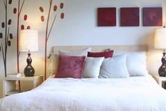 Zen-Schlafzimmer Stockbild