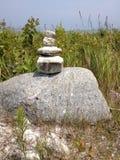 Zen skały Obraz Royalty Free