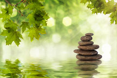 Zen skały Zdjęcia Stock