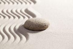 Zen softness for peaceful reflection Stock Photo