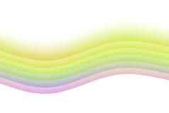 Soothing Rainbow Abstract Background Royalty Free Stock Photos