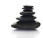 Zen or Spa Stones Stock Photography