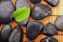 Zen or spa stones Royalty Free Stock Image