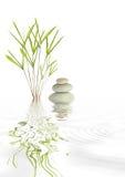 Zen Spa Stones And Bamboo Stock Photos