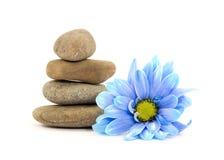Zen spa therapy stones Stock Photo