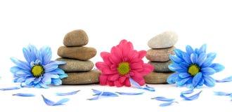 Zen spa therapy stones Stock Photos