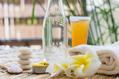 Zen Spa treatment Royalty Free Stock Images