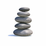 Zen stack Stock Photos