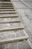 Stairs zen Royalty Free Stock Image