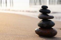 Zen-Steine stockfotos