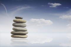 Zen-Steine Lizenzfreie Stockfotos