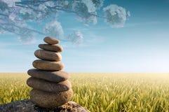Zen-Steine Lizenzfreies Stockfoto
