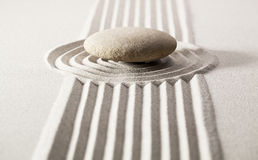 Zen still-life for meditation Royalty Free Stock Images